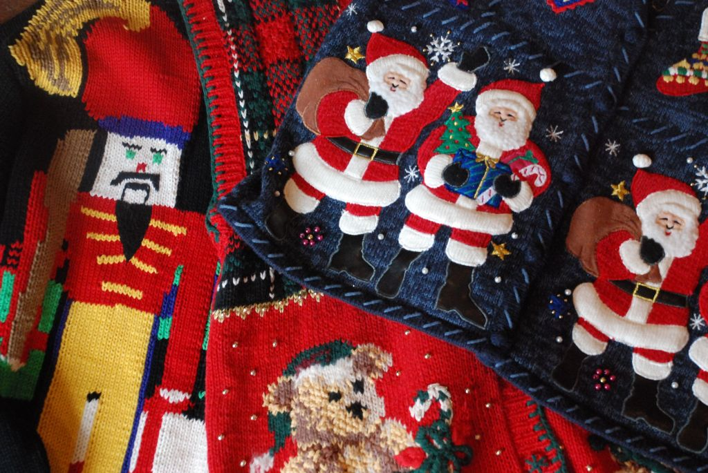 trio christmas sweater