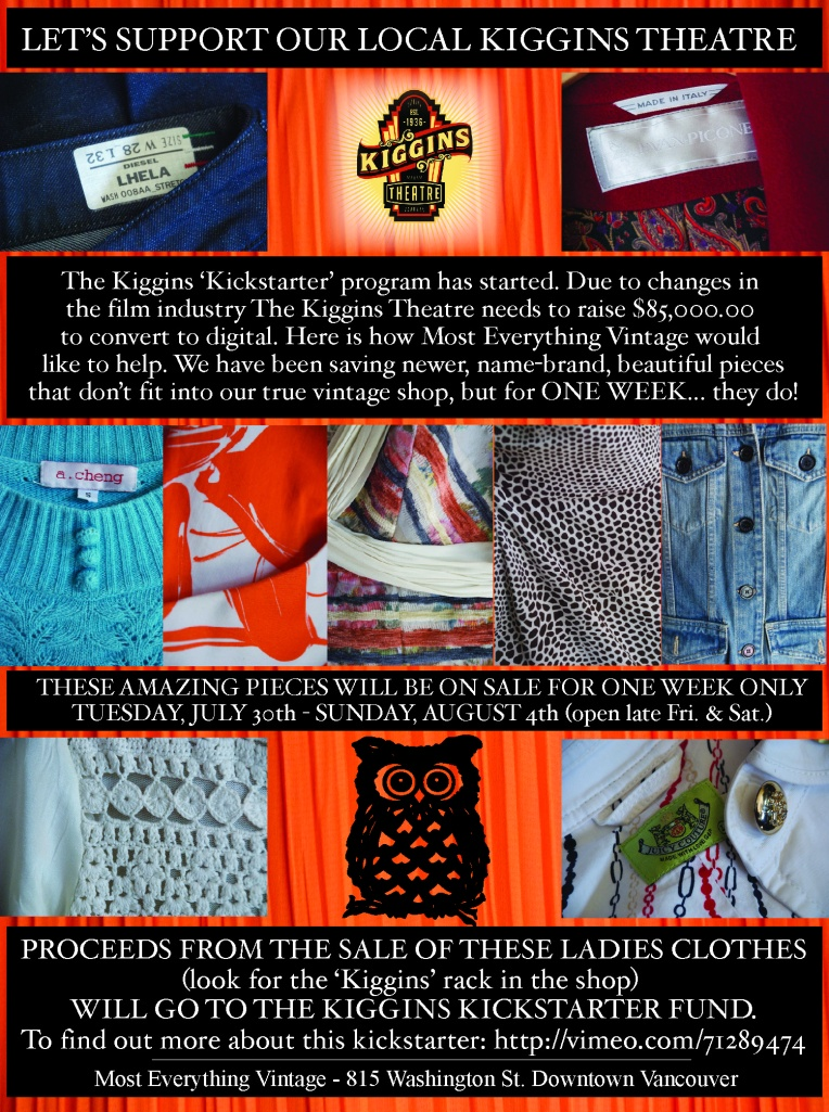 Kiggins Kickstarter poster