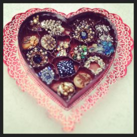 jewelry in candy box
