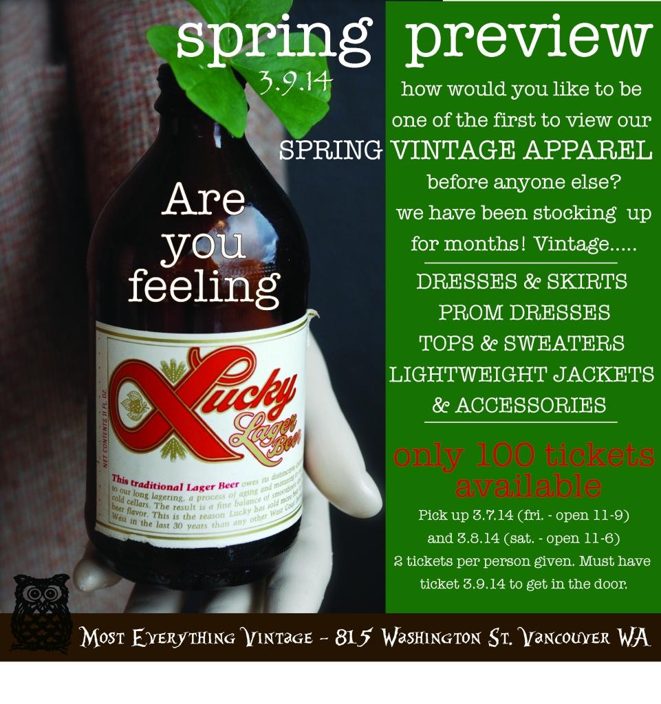 ME Spring Preview promo