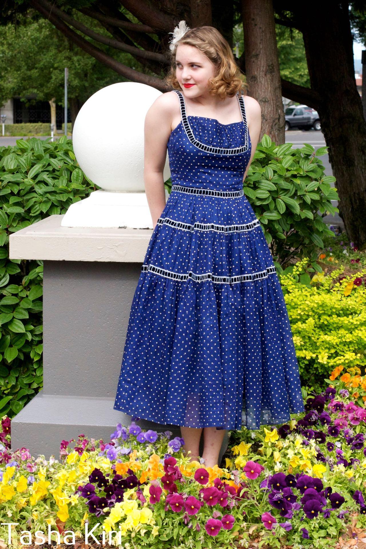 PD dress after