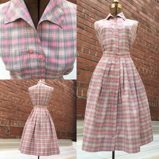50's 'Zenith' skirt and top set. Waist 24 in. $50