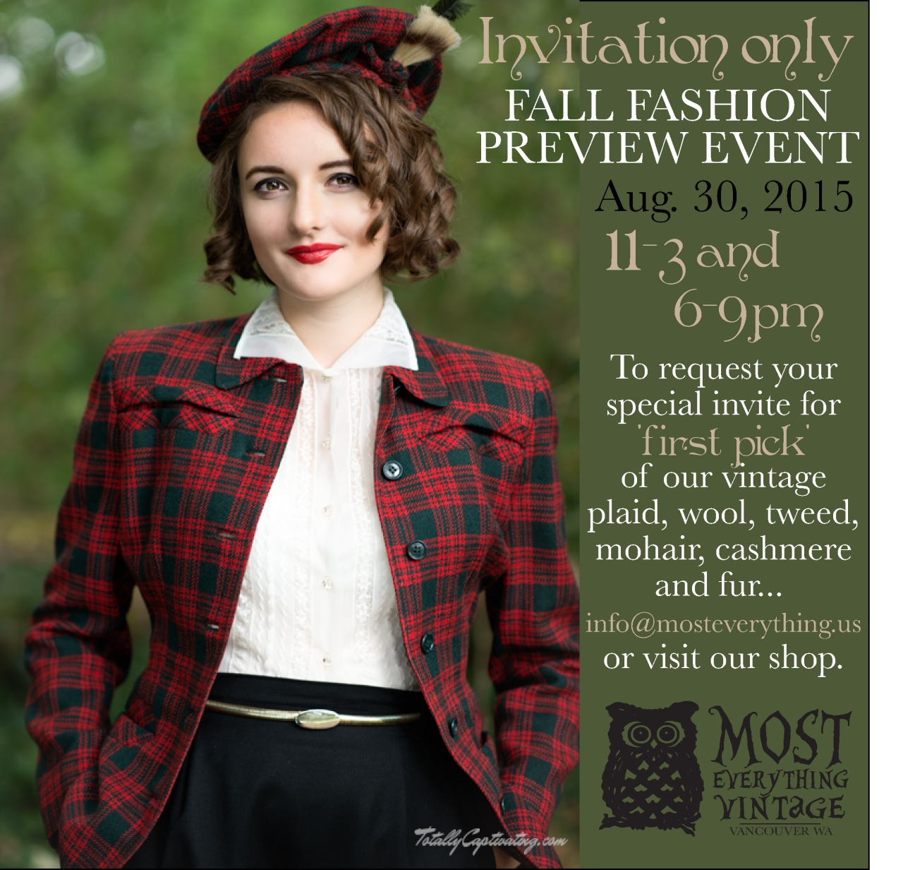 Fall Fashion Preview Event