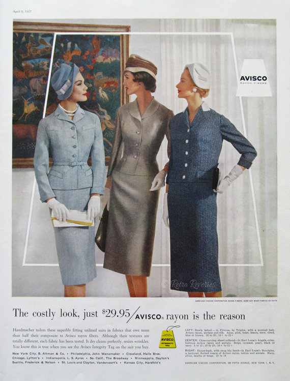 Through the Decades: Women's Suits