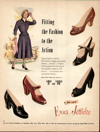 Through the Decades: Women'sShoes