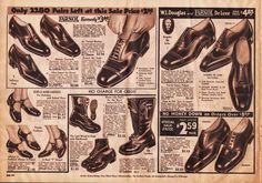 Through the Decades: Men's Shoes