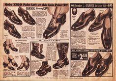 Through the Decades: Men'sShoes