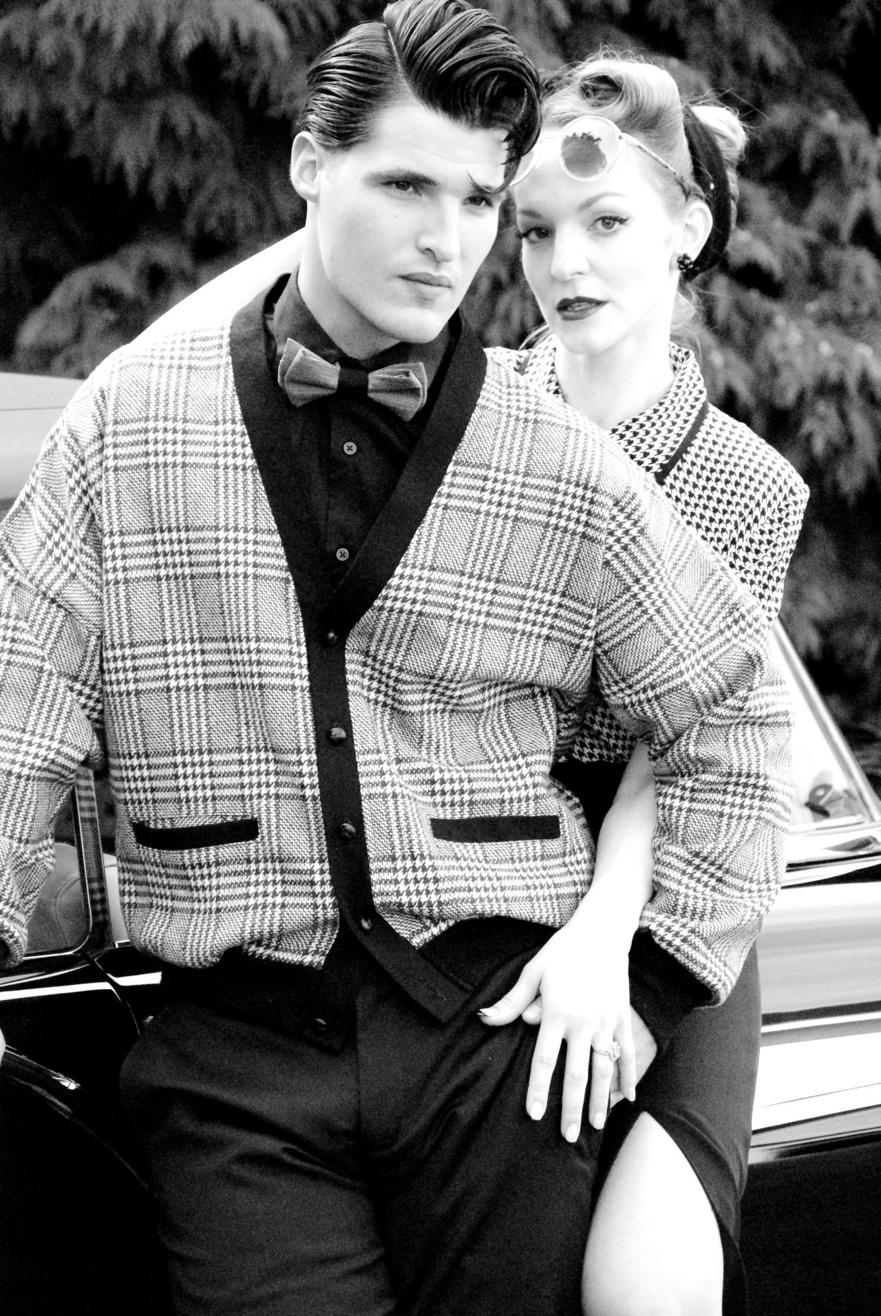 Classic 50's fall fashion